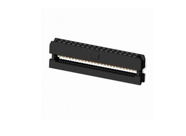 چین PCB Board Black IDC Connector , Brass Daul Row 20 Poles IDC Header Connector توزیع کننده