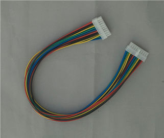 چین AWG 18 - 22  Wire Harness Cable Assembly Red / Yellow / Blue / Green / Black کارخانه